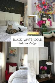 Bedroom Design Black White Gold Red And – karmatic