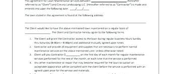 landscape maintenance proposal template lawn care bid template bodiesinmotion co