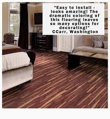 trafficmaster allure 6 in x 36 in african wood dark luxury vinyl plank flooring 24 sq