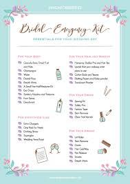 bridal emergency kit by singaporebrides
