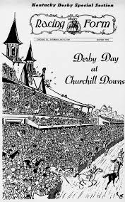 derby racing form the daily racing form drf archive