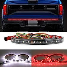 GTP 60 Inch Truck Tailgate Light Bar LED Flexible Strip Running Turn ...