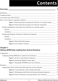 Active Directory Organizational Chart Ultimus And Microsoft Active Directory Pdf