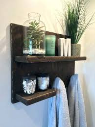 Fascinating Towel Rack With Hooks Towel Rack With Hooks For