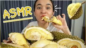 ASMR ทุเรียนหมอนทอง~~ กินไปขำไป รอดมั้ยวันนี้ 🍊ส้ม มารี 🍊 - YouTube