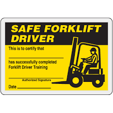 forklift license template download scissor lift certification card template forklift certification card