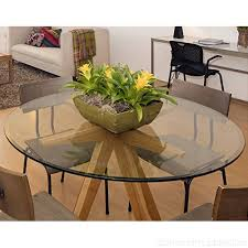 36 inch round glass table top 1 2 thick tempered beveled edge by fab glasirror b00caw05ga