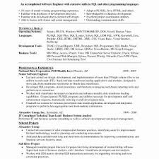 Refrence Sample Resume Format For Experienced Software Test Engineer