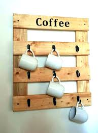 coffee mug hooks holder storage box rack wall mounted cup command magnificent decorative