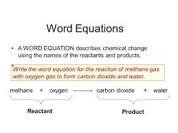 chemical word equations worksheet gcse tessshlo