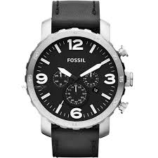 """men s fossil nate chronograph watch jr1436 watch shop comâ""""¢ mens fossil nate chronograph watch jr1436"""