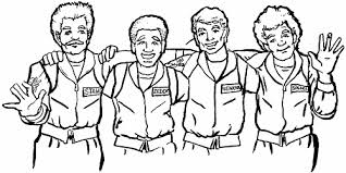 Small Picture Ghost Busters Coloring Pages