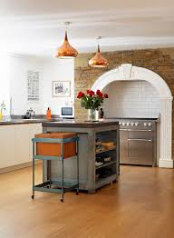 Victorian Kitchen Floor Tiles 50 Trendy And Timeless Kitchens With Beautiful Brick Walls