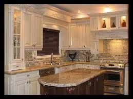 backsplash ideas for kitchen. Backsplash Ideas For Busy Granite Countertops Kitchen