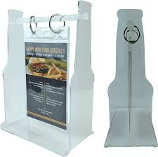 Restaurant Table Top Display Stands Bottle Shaped Acrylic Table Stand Looking to display your new 56