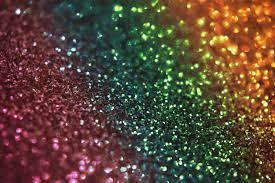 Rainbow Glitter bokeh texture ...