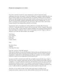 Restaurant Cover Letter Michael Resume