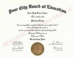 high school diploma name fake high school diploma realistic diplomas
