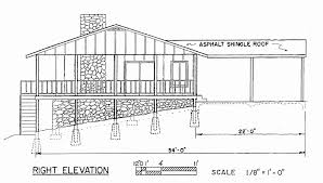 home plans for sloped lots new lake home plans sloping lot house for hillside lots modern