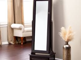 ... armoire:Jewelry Mirror Armoire Target Standing Mirror Black Jewelry  Armoire With Single Drawers For Home ...