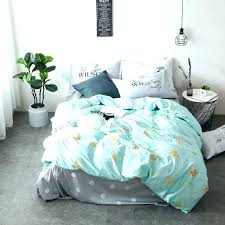 blue and green duvet cover light green bedding light green cotton duvet cover set twin queen