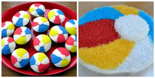 Beach Ball Cake Decorations Awesome That Blow Up Ball We All Love A Beach Ball B Lovely Events