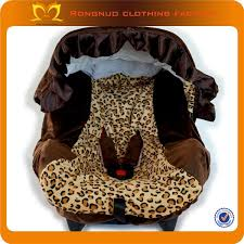 whole leopard print brown fluffy baby safety seat covers canopy caboodle infant car seat cover girl infant car seat heated car seat from charless