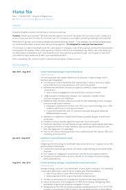 Senior Marketing Manager, Partner Marketing Resume samples