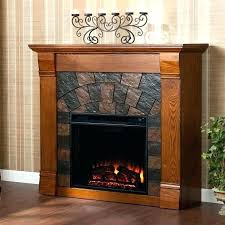 electric fireplace with storage media cabinet barn doors slide