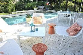 modern metal outdoor furniture photo. Beautiful Metal Outdoor Furniture And Modern 22 Retro Patio . Photo N