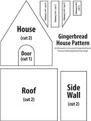 Gingerbread House Patterns Inspiration 48 Best Gingerbread House Patterns And Templates Images On Pinterest