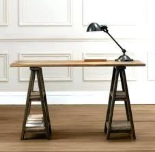 sawhorse computer desk desk table legs desk design ideas modern sawhorse desk table legs and bases