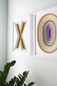 create colorful wall art using layered foam sheets on foam sheet wall art with create colorful wall art with foam a beautiful mess