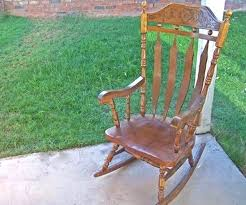 antique rocking chair identification step 1 research chairs platform c