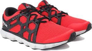 reebok running shoes red and black. reebok hexaffect run 4.0 mu mtm running shoes red and black ,