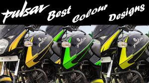 Pulsar Sticker Design 2019 Pulsar 150 Graphics Design Pulsar 150 180 Modified Best Colours For Graphics