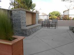 modern outdoor fireplace no chimney outdoor fireplace quality living landscape san marcos ca