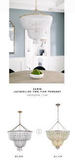 aerin jacqueline two tier pendant for 2520 vs wayfair signature 12 light crystal chandelier for