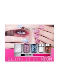nails inc bling it on neon