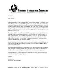 Silent Auction Donation Request Letter For Event Sponsorship