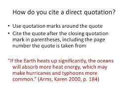 How To Cite Direct Quotes Shared By Samir Scalsys