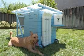 PVC Chicken Feeder on The Garden Ark Coop Thoughts Blog