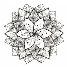 Small Picture 526 best Zentangle flowers images on Pinterest Mandalas