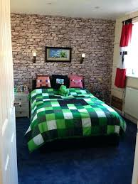 Minecraft Bedroom Wallpaper Amazon Ideas Incredible In Furniture Sets Mine  On At The Brick Dressers Full . Minecraft Room Wallpaper ...