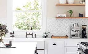 Image Successful Examples Why You Should Love Scalloped Tiling Home Beautiful Kitchens That Use White Subway Tiles Home Beautiful Magazine