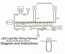 led light bar wiring instructions led image wiring led light bar wiring instructions led auto wiring diagram schematic on led light bar wiring instructions