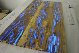 glowing resin table mike warren 7