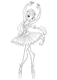 You will find coloring pages to print from animated series angelina ballerina, which you can print yourself. Ballerina Coloring Pages For Childrens Printable For Free Coloring Home