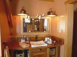 rustic bathroom lighting. interesting bathroom rustic bathroom lighting ideas  home interiors  on