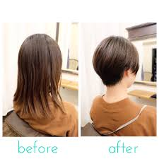ショートヘアーサイドや襟足の浮きやすい髪質の方にはプチ2ブロックが